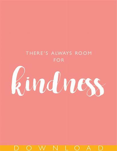 Kindness Printable Always