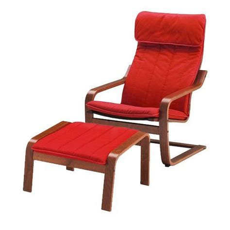 Armchair Cover Set by Ikea Poang Chair Armchair And Footstool Set With Covers