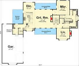 modern farmhouse floor plans modern 4 bedroom farmhouse plan 62544dj architectural designs house plans