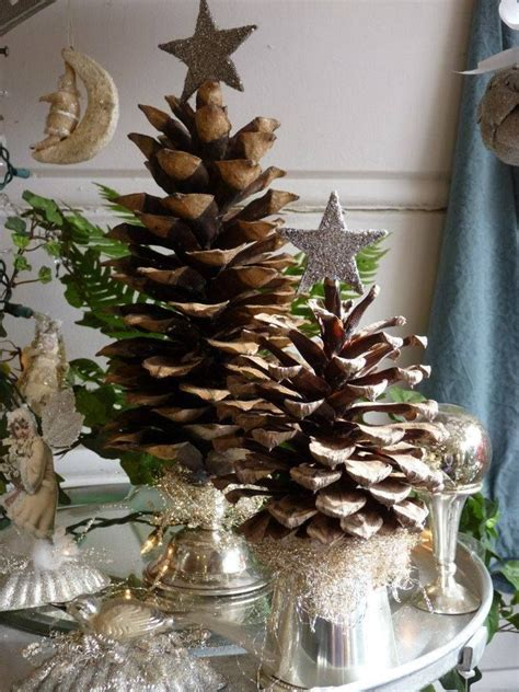 1000+ ideas about Pine Cone Tree on Pinterest   Xmas