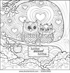 coloring pages of owls for adults bestofcoloring