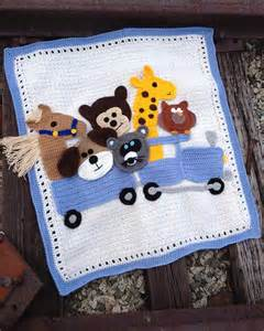 Free Baby Afghan Crochet Pattern Animals