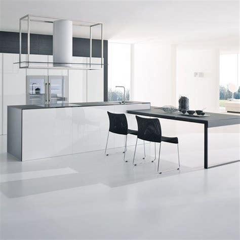 cocinas blancas amplias  luminosas cocina blanca moderna