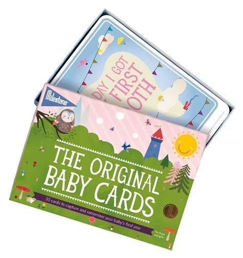 Our baby milestone collections are an easy and beautiful way for parents to capture each precious moment. Milestone Baby Cards   Pupsik Singapore