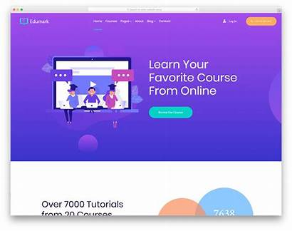 Template Colorlib Templates Learning Website