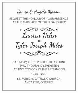wedding invitation tips wording samples wedding tips With catholic wedding invitation wording bride and groom hosting