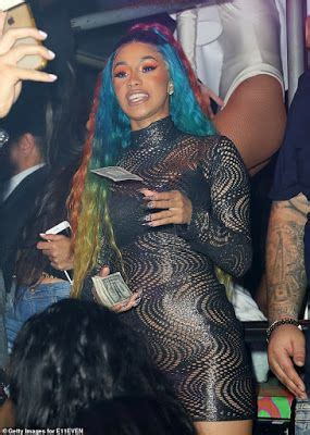 Unbothered Cardi B Parties In A Revealing Dress After ...