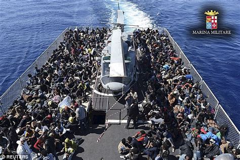 Sea Born Boat Problems by Mediterranean Migrant Baby Born On An Italian Navy Ship