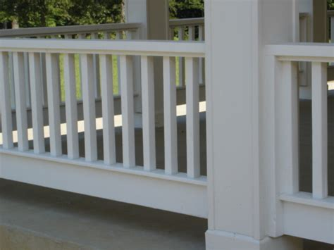 porch railings contemporary home fencing and gates