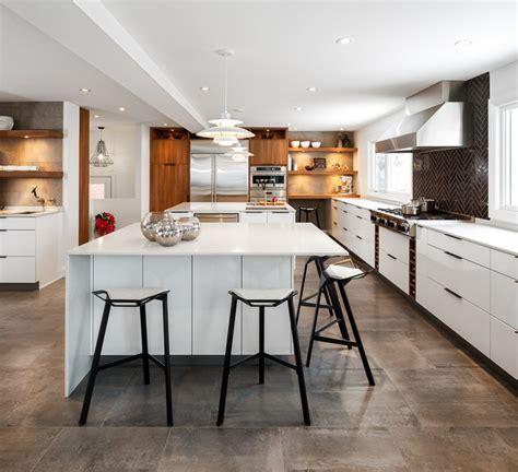 kitchen island ottawa modern white kitchen by astro design ottawa