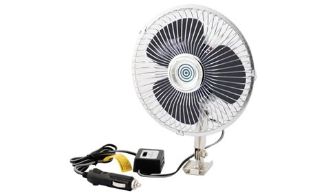 12 volt rv fan pro lift 12 volt oscillating truck and rv fan groupon