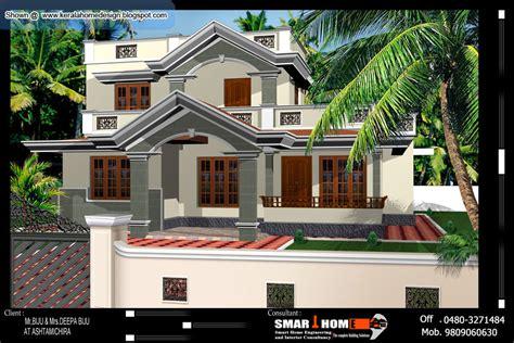 kerala home plan  elevation  sq ft kerala home design  floor plans  houses