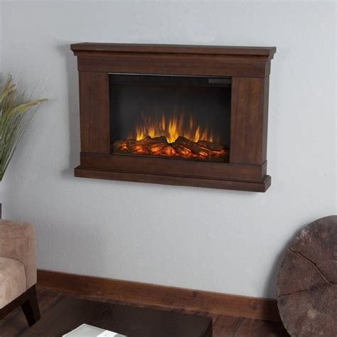 real flame slim jackson electric wall fireplace  vintage