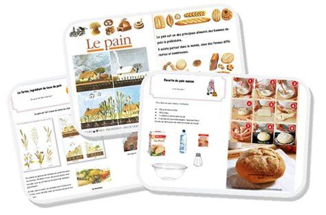 documentaire cuisine étude documentaire quot du blé au quot cycle 2 au fil des