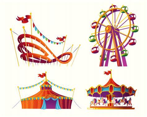 Dibujo para colorear feria > feria. Parque De Diversoes   Vetores e Fotos   Baixar gratis