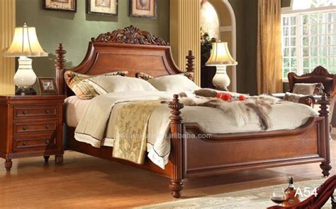 luxury king size bedhigh  classical bedroom furniture