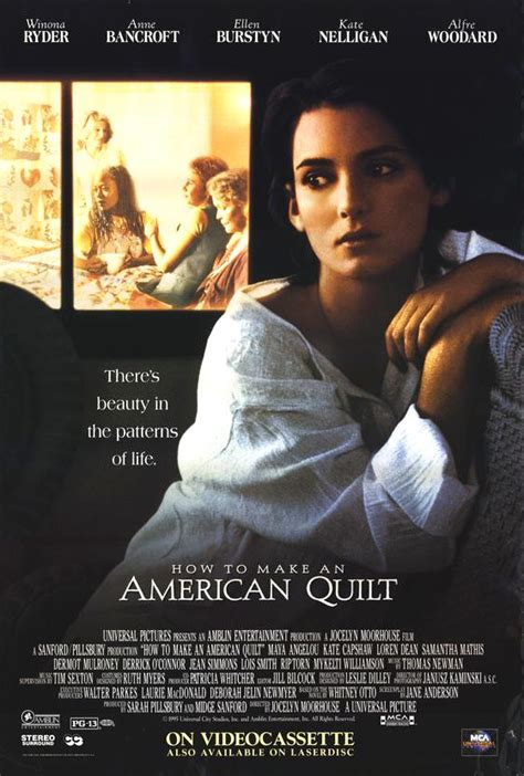 how to make an american quilt how to make an american quilt 1995 poster 1 trailer