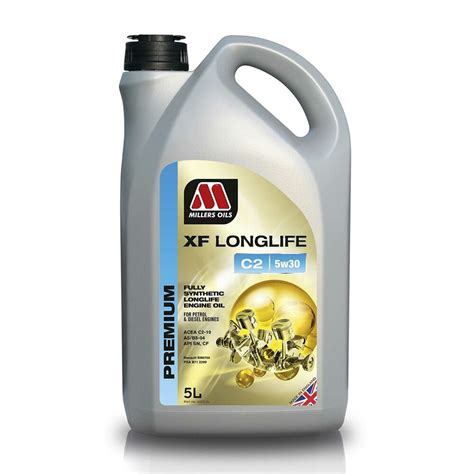 longlife öl 5w30 millers oils xf longlife c2 5w30 fully synthetic engine
