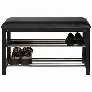 Banc De Rangement Pas Cher : meuble rangement chaussures pas cher 10 banc chaussures ~ Dailycaller-alerts.com Idées de Décoration