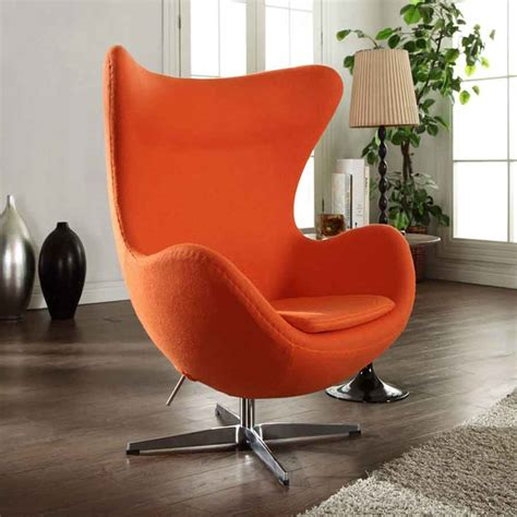 egg chair reproduction arne jacobsen mid century modern