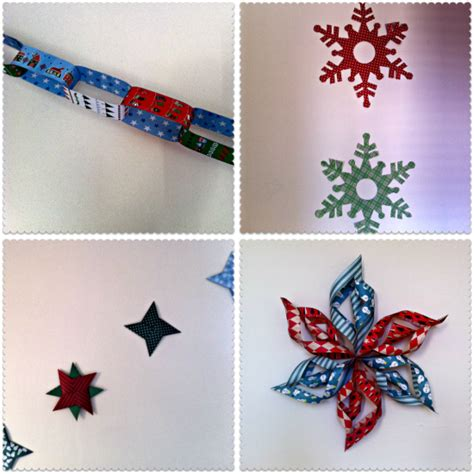 christmas decoration made of paper holliday decorations