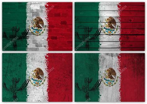 Collage bandera mexicana — Foto de stock © Ruletkka #12571795