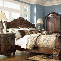 North Shore Sleigh Bed by Ashley Furniture Homestore Flickr Photo Sharing