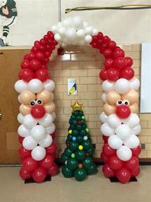 christmas balloon art diy holiday party decorations