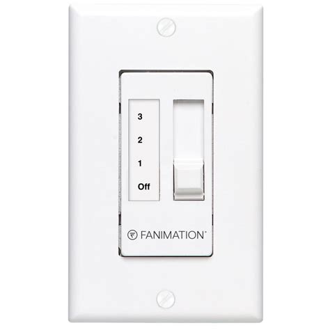 wall mount fan with remote control shop fanimation white wall mount ceiling fan remote