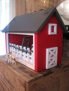 wood toy barn plans  hip roof toy barn