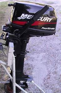 Used Mercury 4 Hp Outboard 4 Stroke Outboards