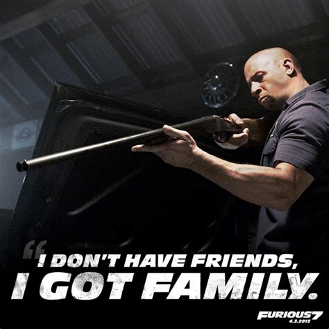 Vin Diesel Quotes Fast and Furious 7