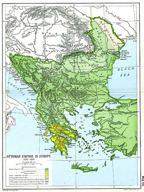 Ottoman Europe by Ottoman Empire In Europe
