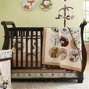 crib bedding woodland animals oh baby pinterest
