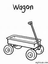 Wagon Coloring Dessin Printable Lastwagen Ausmalbilder Coloriage Template Simple Clipart Konabeun Ohbq Library sketch template