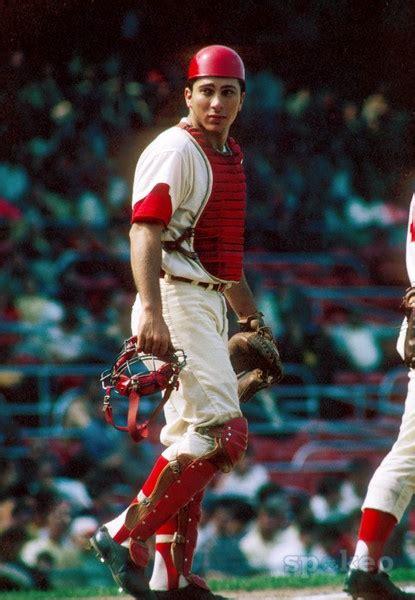 Johnny Bench Cincinnati Reds by Cincinnati Reds Catcher Johnny Bench During The 1968