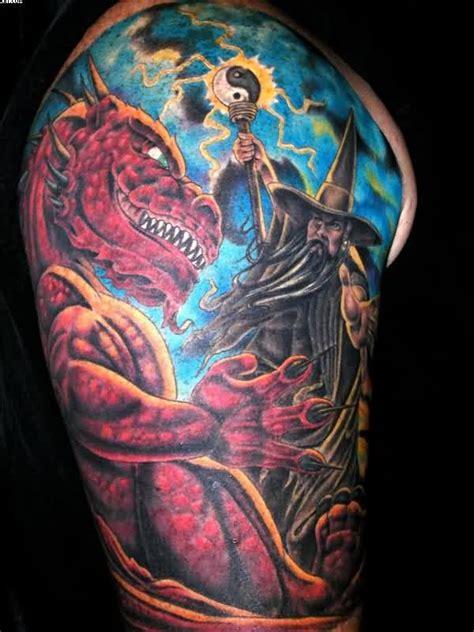 fantasy dragon tattoos designs images  ideas