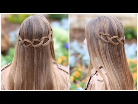 knotted braids cute girls hairstyles youtube