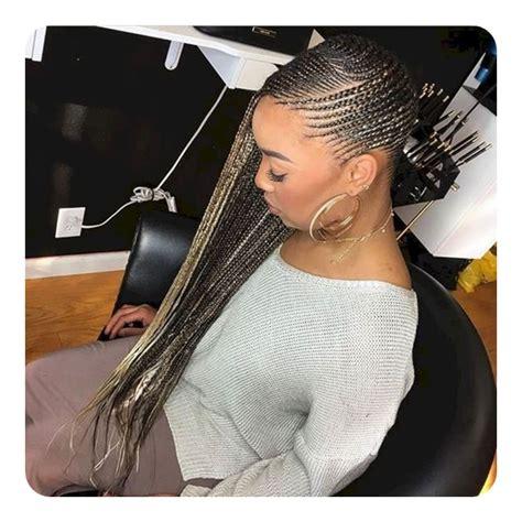 cool  trendy lemonade braids