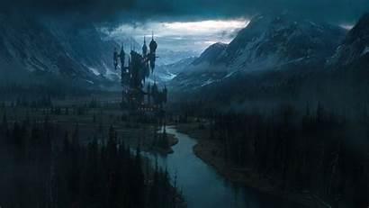 Castlevania Background Landscape Artstation Netflix Fantasy Wallpapers