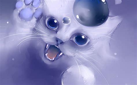 Warrior Cat Desktop Wallpaper Anime Cat Wallpaper Wallpapersafari