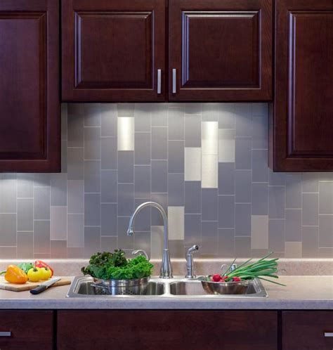 kitchen backsplash peel and stick tiles kitchen backsplash project kits from backsplashideas offer affordable transformation