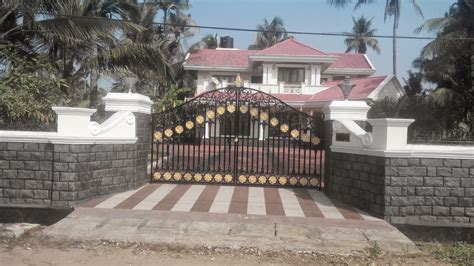 gates for front of house kerala gate designs front gates of kerala houses