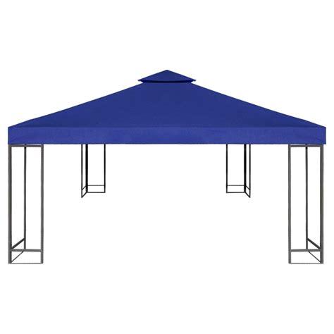 waterproof gazebo waterproof gazebo cover canopy 7 96 oz yd 178 dark blue 10 x 10 vidaxl com