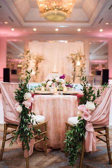 42 Glamorous Rose Gold Wedding Decor Ideas Blush wedding
