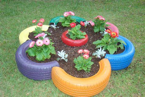 tire planters for tire planters home decor designs