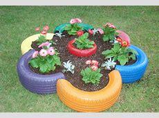 Tire Garden Planter Garden Ftempo