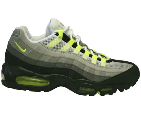 Nike Air Max 95 Grey Neon Green Classic 2010