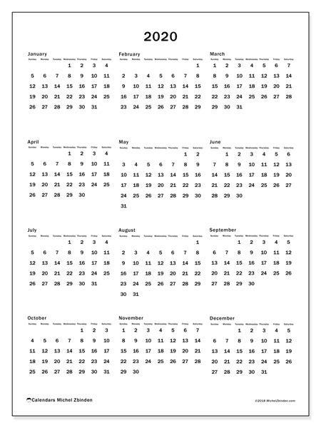 calendar ss michel zbinden en