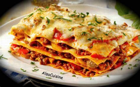 recette lasagnes recette  ma facon